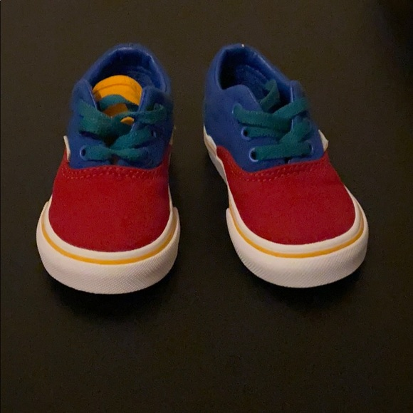 Blue Green Yellow Vans Shoes | Poshmark